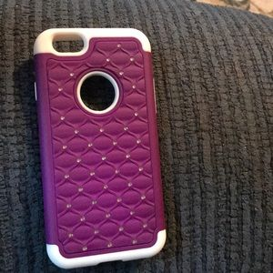 Purple diamond iPhone 6 case